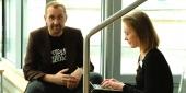 Christian Pomper im Interview mit Teresa Arrieta