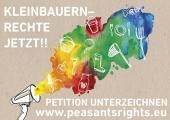Kleinbauern-Rechte jetzt!! Petition unterzeichnen