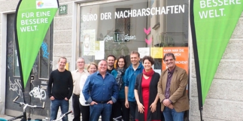 Regionalbüro Graz - mit Team vor Ort