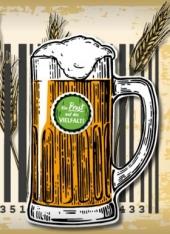 Prost auf die Vielfalt - Bierkrug
